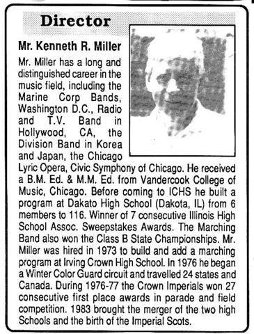 Article About Mr. Miller