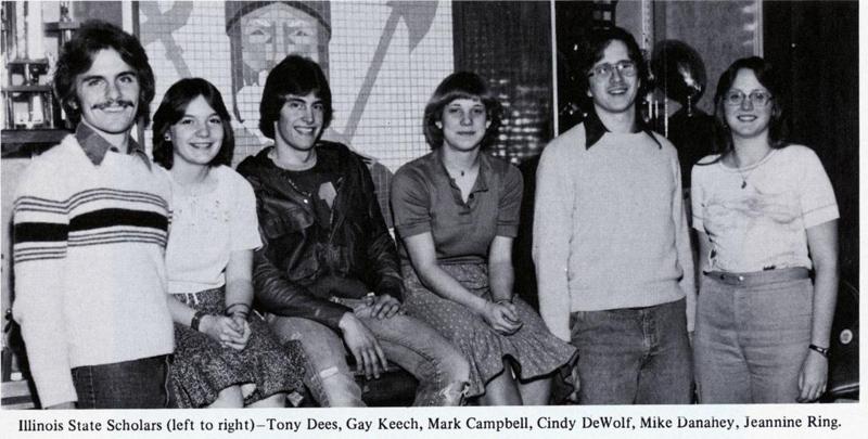 1978 Illinois State Scholars