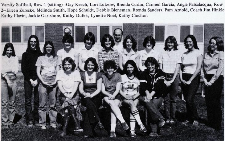 1978 Varsity Softball