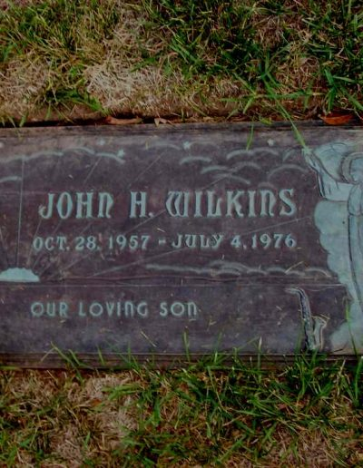 John's Grave Stone in West Dundee