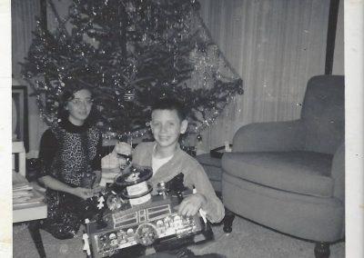 Jim Petersen Chrismas 1961