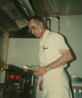 Chuck Engels Sr. in the Kitchen