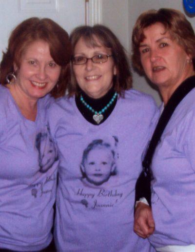 Sharon, Deb and Jackie 2009