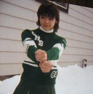 Jeannine the cheerleader