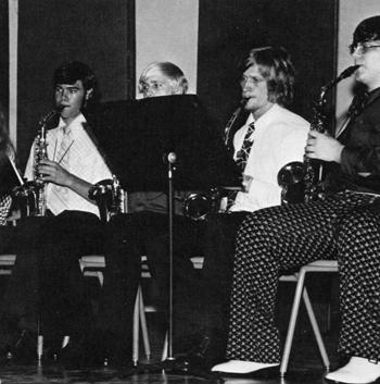 John Wilkins 1974 Band